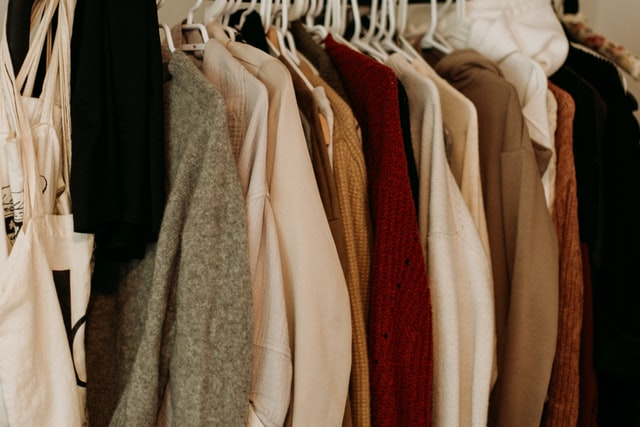 full clothes closet
